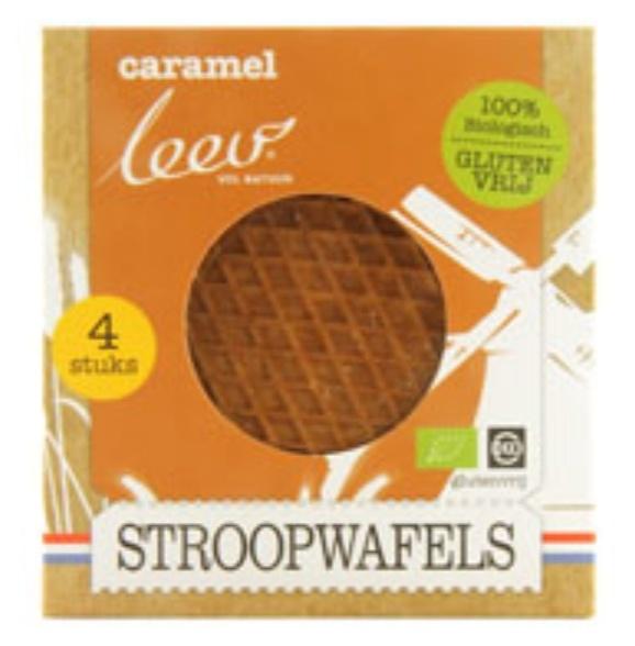 Stroopwafels Lactose & Gluten Free (1x4)