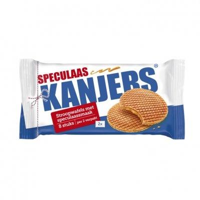 Kanjers Kanjer speculaas stroopwafels (seizoens smaak)