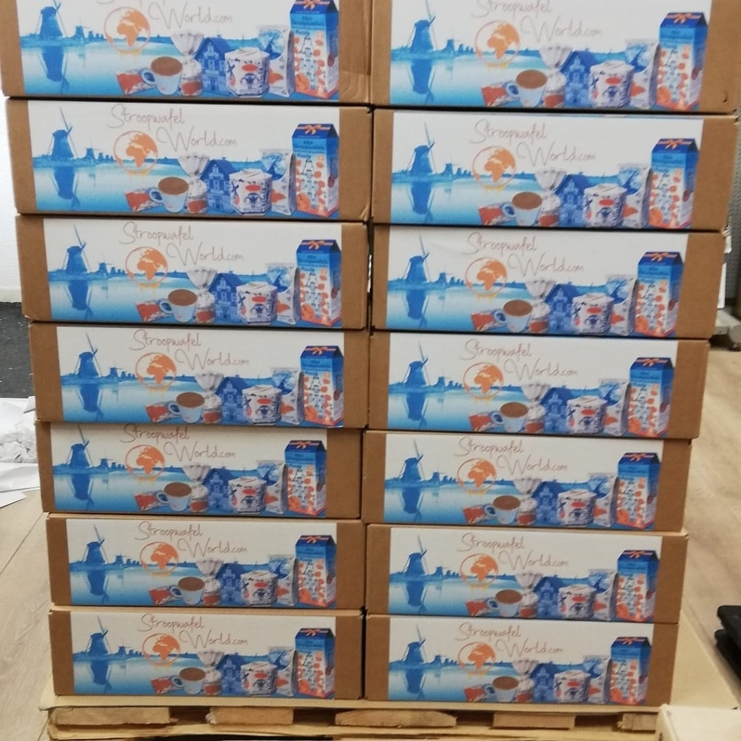 Stroopwafel Pallet (8 packs regular)