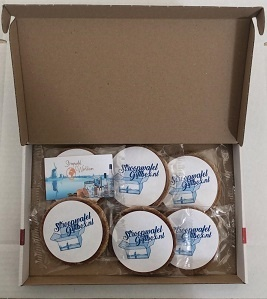 Stroopwafel cadeau personeel