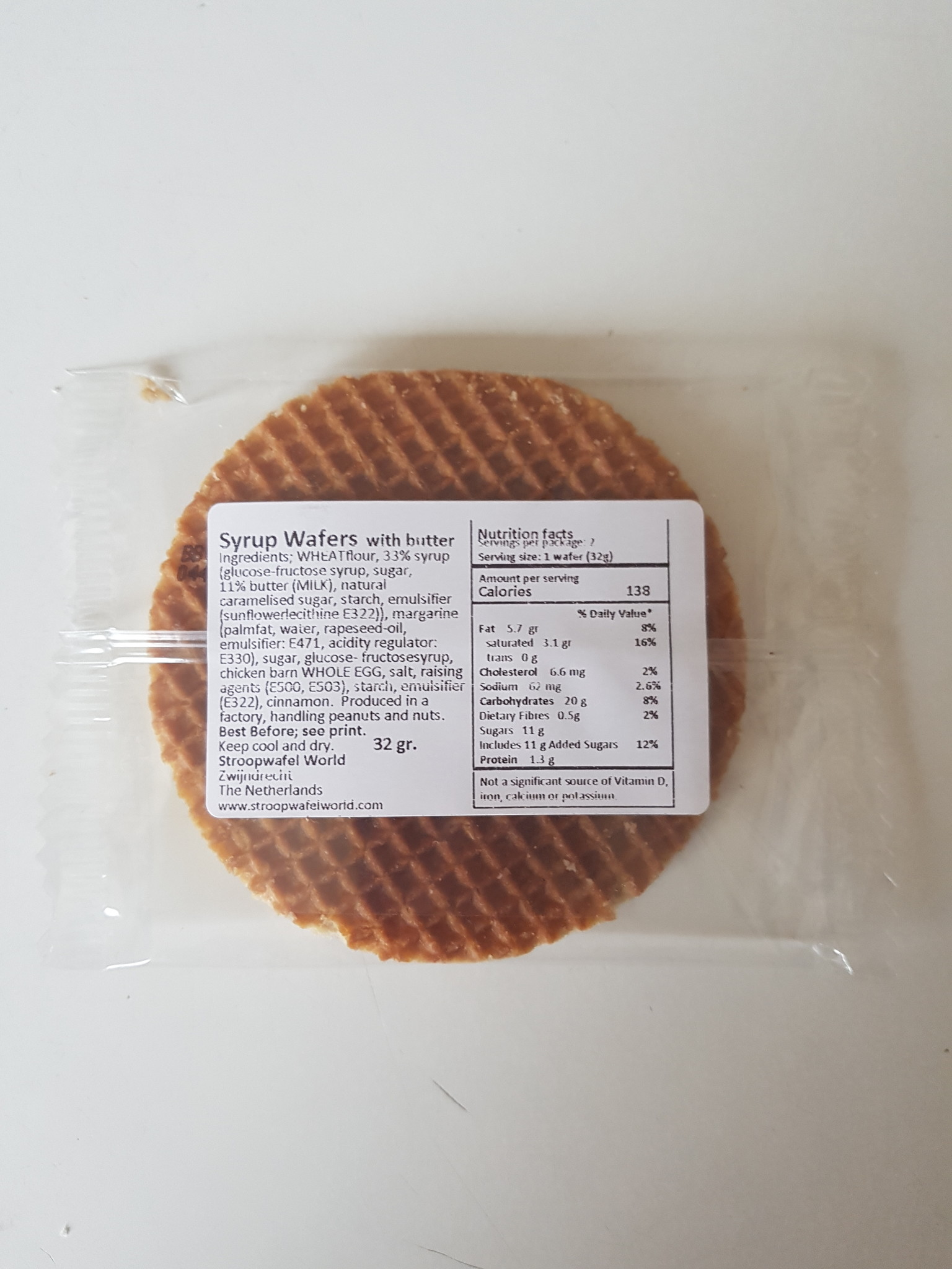Stroopwafel World - los verpakte stroopwafel