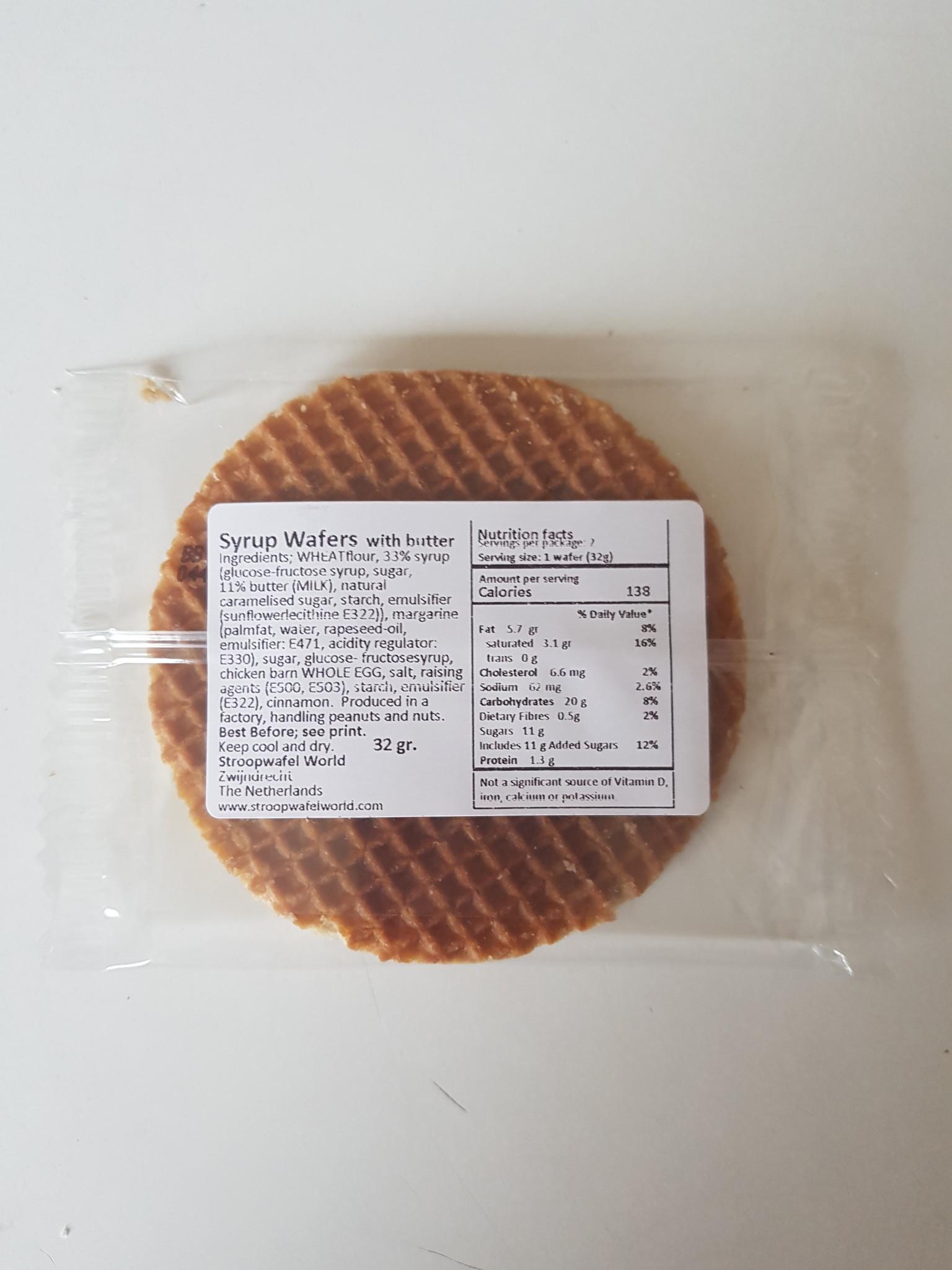 Stroopwafel World Stroopwafel World - los verpakte stroopwafel