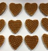 Stroopwafel World Stroopwafel hartjes mini's (12)