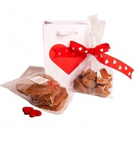 Chocolade giftbag Valentijnsdags