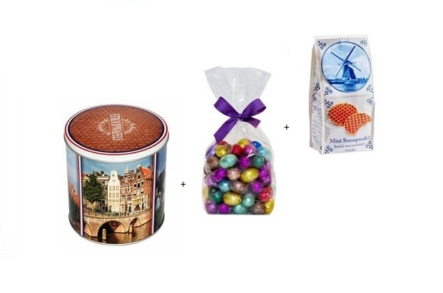 Dutch Easter Syrupwaffle Gift