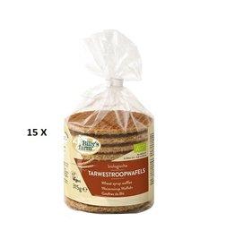 Vegan stroopwafels (doos 15 pakjes)