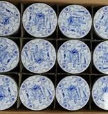 Stroopwafel blikken Delfts Blauw (doos 12 blikken)