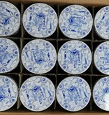 Stroopwafel delft blue tin (box 12 tins)