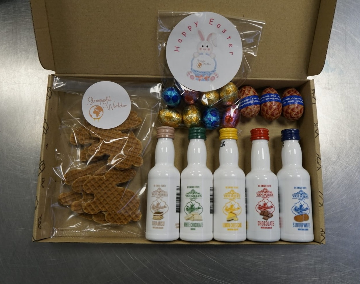 Unique Easter Syrupwaffle Gift