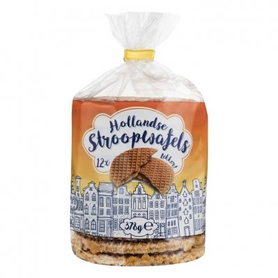 Holland Stroopwafels per 12 verpakt