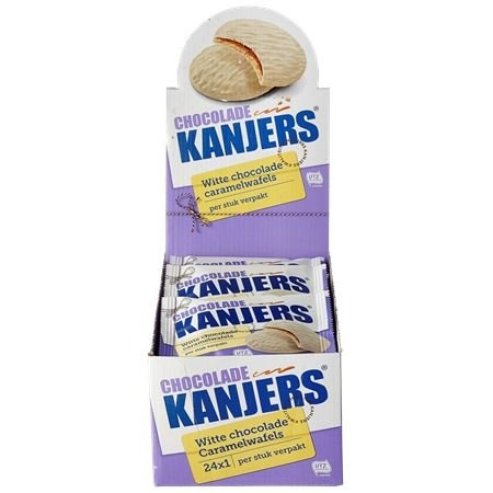 Kanjers Kanjers mixed flavors displaybox + free hearts