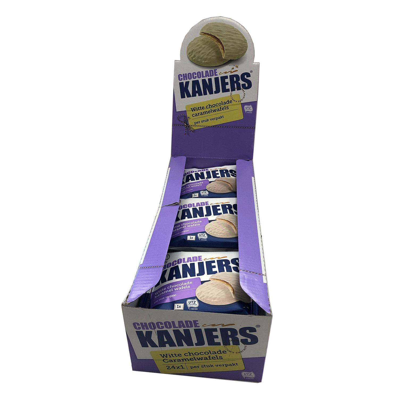 Kanjers Kanjer displaybox deal melk en wit chocolade