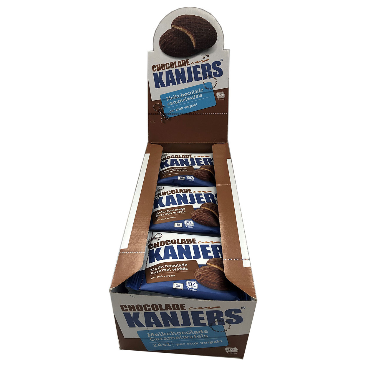 Kanjers kanjers Chocolate and original display deal