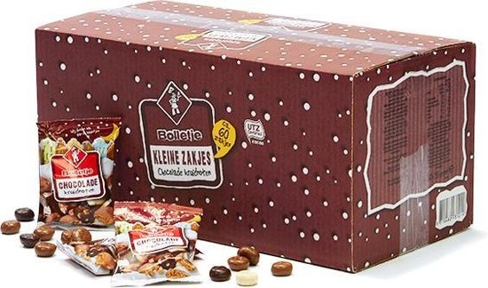 Bolletje Bolletje Chocolade Kruidnoten - 60 x 35 gram