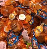Chocolate coins 100 gram Sinterklaas