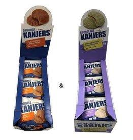 Kanjers Kanjers original  and White Choco Displaybox Deal