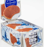 Delft Blue Stroopwafel Experience Syrupwaffle Pallet 2 packs delft blue