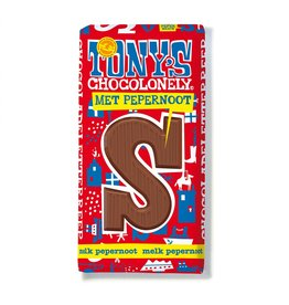 Tony's Chocolonely Milk chocolate bar with  gingerbread