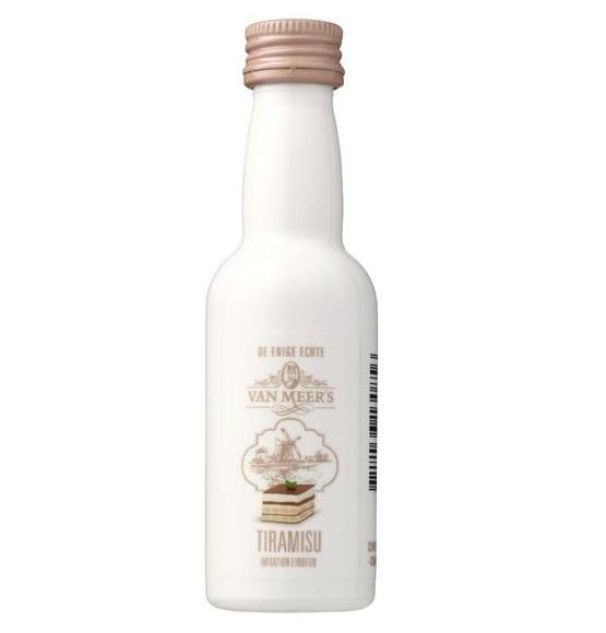 Van Meers Van Meers Tiramisu  Likeur mini (50 ml)