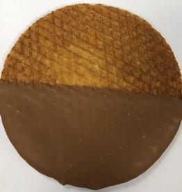Maxi chocolate stroopwafel