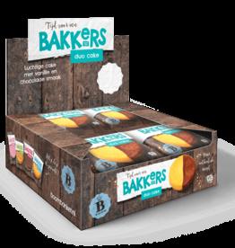 Duo choco cake 12 stuks (Display box)