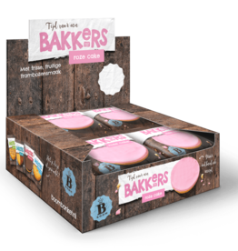 Roze koek 12 stuks (Display box)