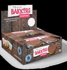 cake choco met vruchtenjamvulling  12 stuks (Display box)