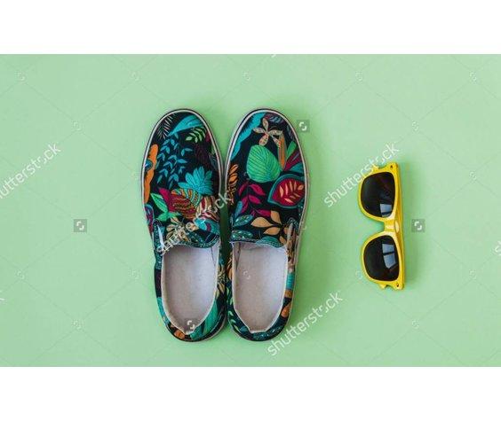 Filla Aqua Blue Loafer