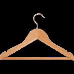 Zomotta Kinderkledinghanger hout met broeklat rokinkeping