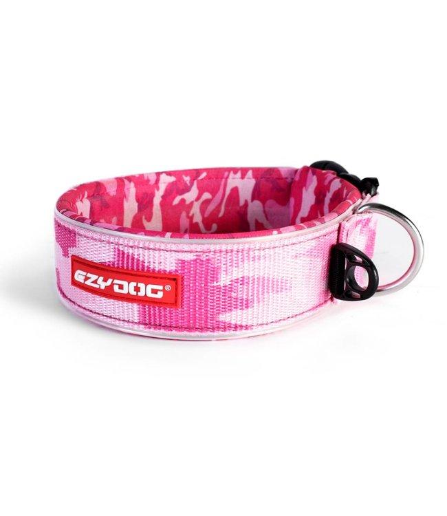 EzyDog EzyDog brede neo halsband, pink camo