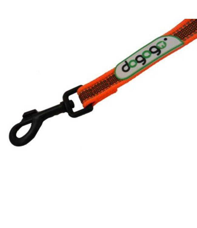 Dogogo Dogogo Antislip riem zonder handvat 14 mm breedtes, oranje