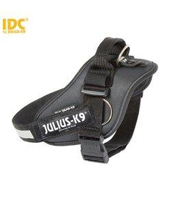 Julius-K9 IDC Powertuig met zijringen zwart