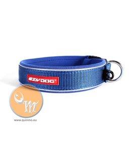 EzyDog classic neo halsband, blauw