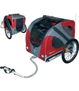 Doggy Ride Doggy Ride Hondenfietskar Original, rood/grijs