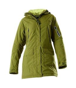 Owney Dames winterparka Albany, moss-green