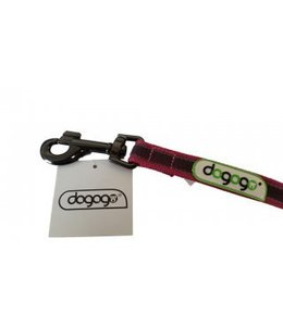 Dogogo Antislip riem zonder handvat 14 mm breedtes, roze