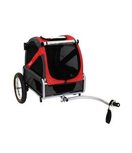 Doggy Ride Hondenfietskar mini, rood/zwart