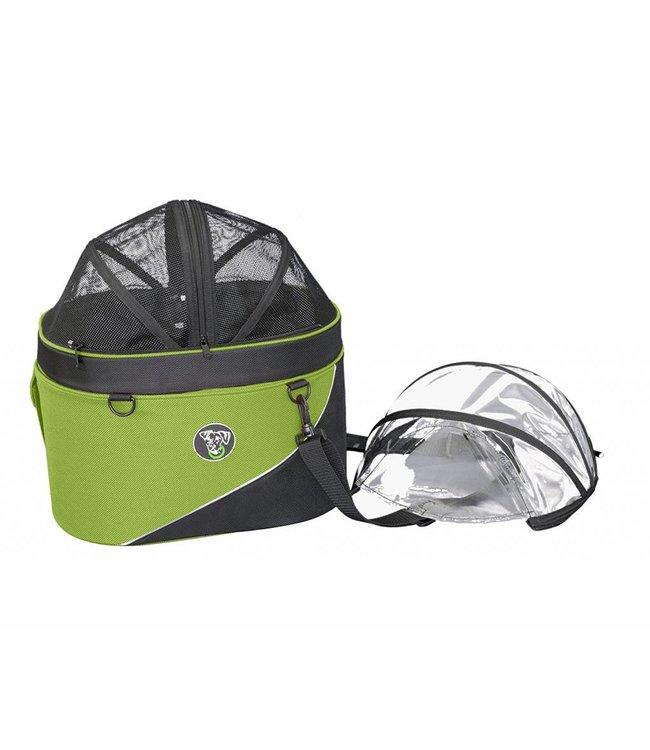 Doggy Ride Cocon huisdier draagtas en autostoel, groen