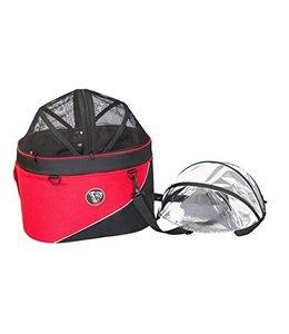 Doggy Ride Doggy Ride Cocon huisdier draagtas en autostoel, rood