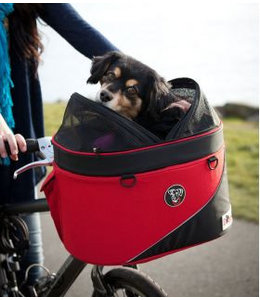 Doggy Ride Doggy Ride Cocoon fiets- en draagmand, rood