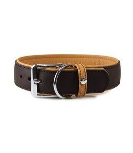 Das Lederband Das Lederband halsband Type A Vancouver, mocca / karamel