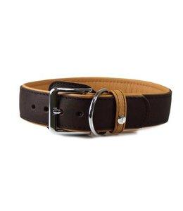 Das Lederband Das Lederband Leren halsband Type B Vancouver, mocca / karamel
