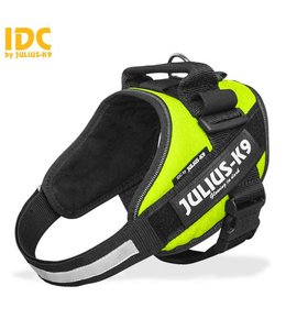 Julius-K9 IDC Powertuig neon groen