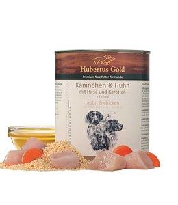 Hubertus Gold Konijn en kip, 800 g