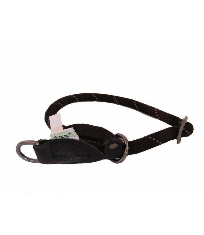 Dogogo Dogogo nylon sliphalsband, zwart