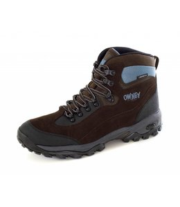 """Owney Owney outdoor boots """"Marshland"""", brown-light blue"""
