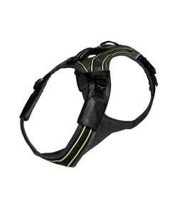 EQDOG Pro hondentuig, zwart / groen