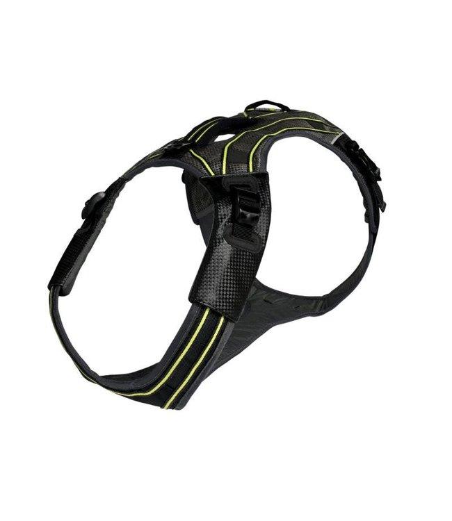 EQDOG EQDog Pro multifunctioneel hondentuig, zwart/groen