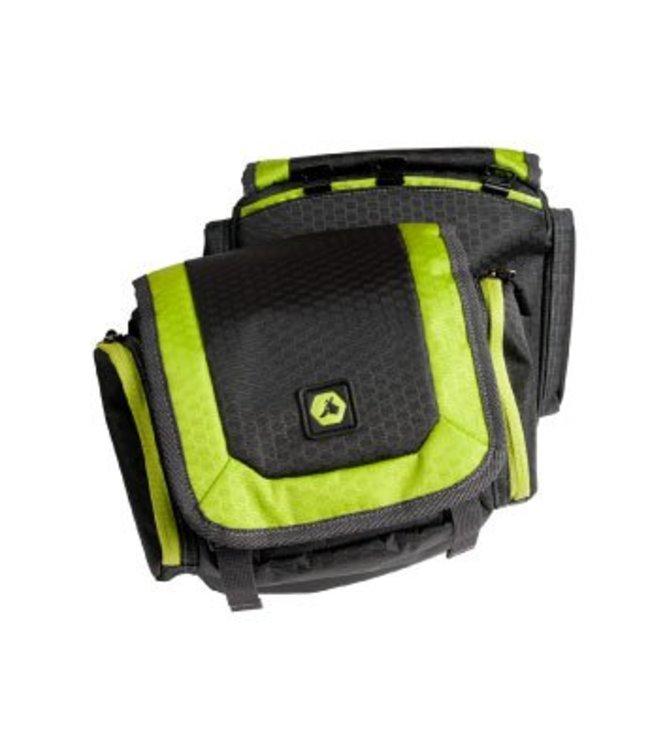EQDOG EQDog Flex Pack afneembare rugzak, zwart / groen