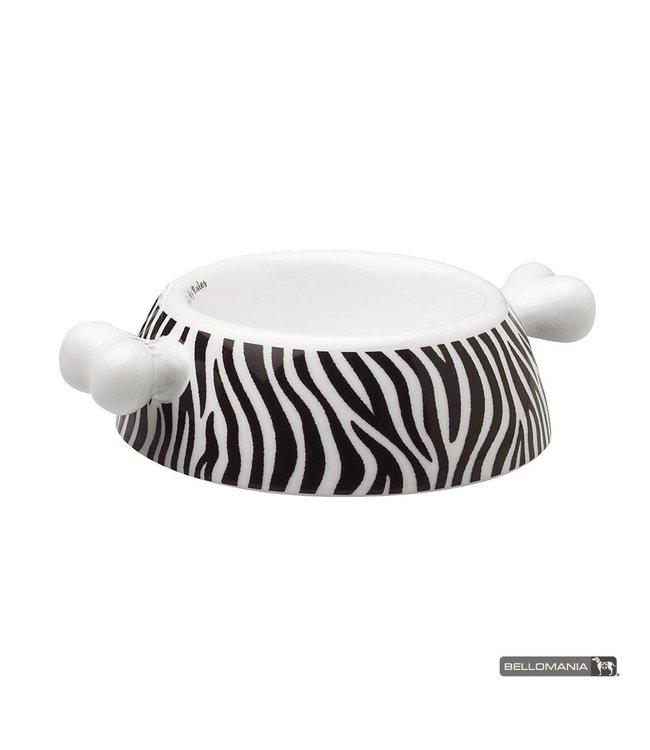 "Bellomania hondenvoerbak Atrium Zebra ""Limited Edition"""